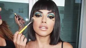 cleopatra make up tutorial halloween ideas youtube