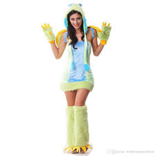 Dinosaur Halloween Costumes Ladies Dinosaur Bird Furry Costume Cute Animal Cosplay