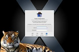 visage login customize mac os x