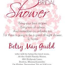 wording for bridal shower invitations dancemomsinfo com