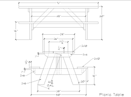 Plans For Wood Picnic Table by Picinic Table