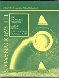 thermodynamics solutions manual an engineering approach yunus