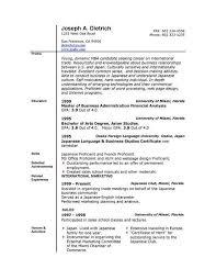 Cover Letter Resume Template Open Office  job