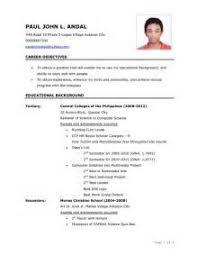 Post Graduate Resume  graduate resume sample job college
