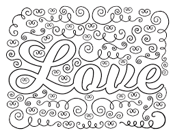 love coloring pages love coloring sheets tryonshorts free coloring