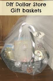 diy christmas gift ideas how to make gift basket from the dollar
