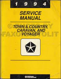 1994 dodge caravan u0026 voyager compressed natural gas repair shop