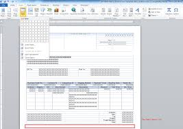 Template For Invoice Word How To Add A