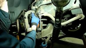 dodge dakota ball joint sway bar link replacement youtube