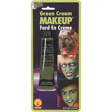 amazon com rubie u0027s green cream makeup 1 0 ounce toys u0026 games