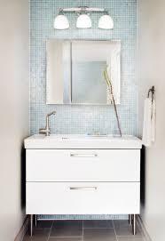 Ikea Bathroom Ceiling Lights by Bathroom Killer Small Modern Bathroom Design Using Light Blue