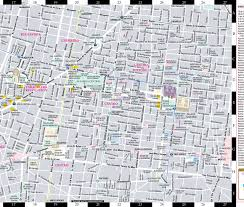 Mexico Cities Map by Streetwise Mexico City Map Laminated City Center Street Map Of