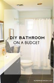 diy bathroom on a budget homemade ginger