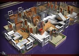 Free Software To Create Floor Plans by Drawing Plans Free Software Perfect More Bedroom D Floor Plans