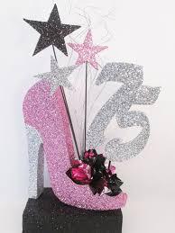 styrofoam high heel shoe birthday or special event centerpiece