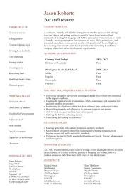 Training Consultant CV template  CV  template