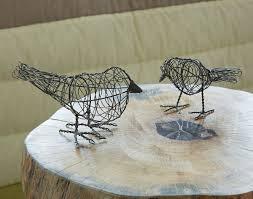 oiseaux en metal oiseaux décoratifs en métal becquet
