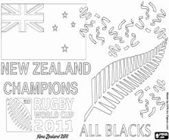 zealand coloring pages