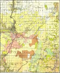 Wisconsin Map With Counties by Wisconsin Land Ownership Map Wisconsin Map