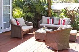 Wood Patio Furniture Sets - patio furniture cushions with wooden pattern floor and wicker
