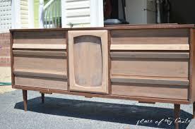 Century Modern Furniture Mid Century Modern Dresser Makeover Place Of My Taste