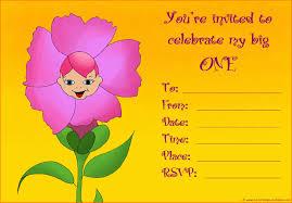 20 cute 1st birthday invitations free printable and original