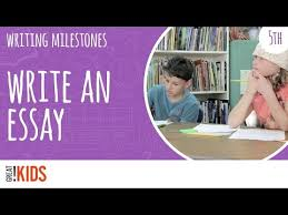 grade   essay writing practice essay writing tips for fifth graders