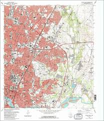 Springfield Oregon Map by The National Map Historical Topographic Map Collection