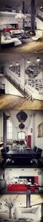 scandi nordic split level studio apartment with gorgeous wooden