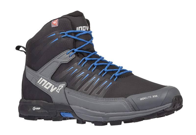 Inov-8 Roclite 335 Trail Running Boot Black/Blue 000801-BKBL-M-01 Black/Blue M10.5 / W12