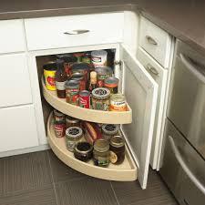 Blind Corner Kitchen Cabinet decor u0026 tips blind corner optimizer with lazy susan turntables