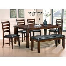 Steve Silver Dining Room Furniture Steve Silver Sao Paulo 6 Piece Casual Dining Table Bench U0026 Chair
