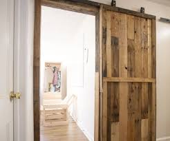 Diy Barn Doors by Pallet Sliding Barn Doors 5 Steps