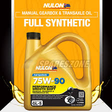 full synthetic 75w 90 smooth shift m t gearbox oil 4l toyota