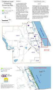 Map Of Florida Cities And Towns by County Screening Maps Florida Department Of Health