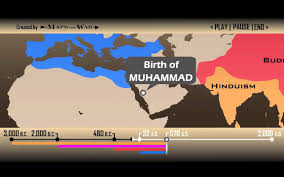Religions Of The World Map by Religion Global History Timeline 1 Min 30 Sec Youtube