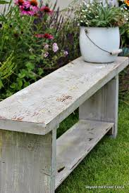Basic Wood Bench Plans by Best 25 Reclaimed Wood Benches Ideas On Pinterest Diy Wood