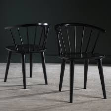 Safavieh Dining Room Chairs by Safavieh Country Classic Dining Blanchard Black Dining Chairs Set