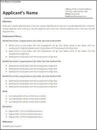 cv format pdf