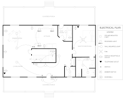 floor plan example electrical house architecture plans 65659