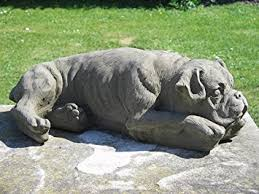 boxer dog uk stone boxer dog garden statue amazon co uk garden u0026 outdoors