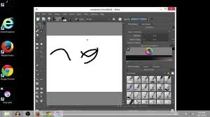 krita free drawing software how to download and install youtube
