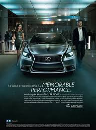 lexus visa pursuits uncategorized advertising u0026 society