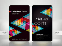 Business Card Eps Template Free Vector Black Cool Background Business Card Design Templates