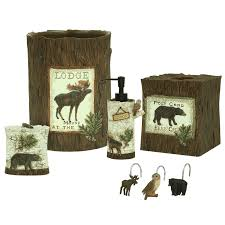 Moose Bathroom Accessories by Lake Lodge Bath Accessories