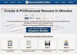 Free Resumes Builder Online by 15 Free Résumé Builder Popular Sites To Create Professional Cv U0027s