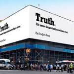 The New York Times is Using the 'Truth' to Pitch Itself Against Facebook and Google