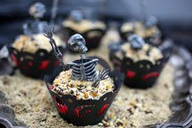 Halloween Graveyard Cake by Graveyard Cupcakes Evite