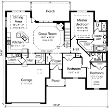 3 Bedroom House Designs Pictures Plan 39190st One Level 3 Bedroom Home Plan Third Bedrooms And