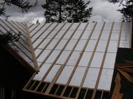Sips Cabin Insulated Roof Panel Retrofit Replacement With Ray Core